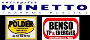 Logo minetto polder benso